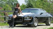 1970 Chevy Camaro Z28, girls hot but would rather have the car.Already have a ho…