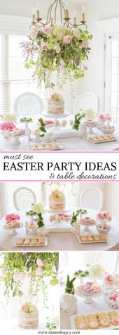 Easter Occasion Concepts and Desk Decorations | House Design & Entertaining | Maune Legacy