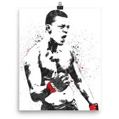 Nate Diaz UFC Poster