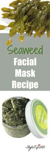 einschließlich 8230 Diese Algenmaske Rezept #acne #aging #alm Maske #all