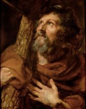 The Apostle Philip – Anthony van Dyck. c.1618-20. Oil on canvas. 64.5 x 50.5 cm….