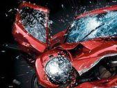 Broken Car Screen Wallpaper Image