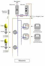 Minuterie Simple Connexion A 3 Fils Schema Electrique
