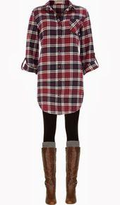 Attraktive Damenmode : 10 stylische Outfit-Ideen für den Winter #Damenmode #sty