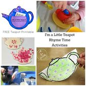 Little Tea Pot Tots Water Transfer Play Kids Learning Activities