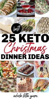 25 Keto Christmas Recipes for Dinner – Keto Holiday Recipes