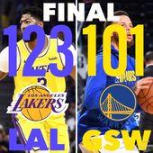 Pech heute zu Hause gegen die Lakers. Sie fingen erstaunlich an und wir konnten ne …   – Love