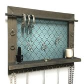 Jewelry Display / Necklace Holder / Earring Organizer