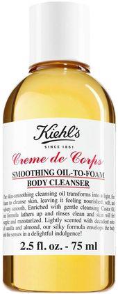 Kiehl's Since 1851 | Creme de Corps Smoothing Oil to Foam Body Cleanser – 2.5 fl. oz. – Travel Size | HauteLook