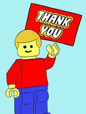 Kostenloser Download: Lego Danke Tags #download #thank   – Christmas apartment