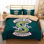 3D Customize South Side Serpents Bedding Set Duvet Cover Set Bedroom Set Bedlinen