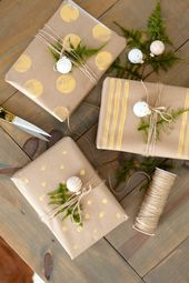 Our DIY Present Wrapping + The ONE Merchandise You Don't Wish to Neglect