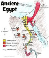 Map of Historical Egypt