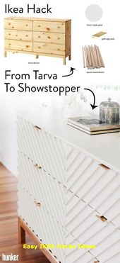 Transform a Humble IKEA Dresser Into a Gorgeous…