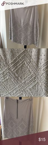 Jeweled skirt Very soft material Great to pair with cream sweater and knee high … – My Posh Picks