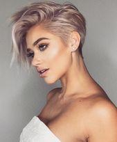 Moderne Frisuren für Frauen Superb 10 Trendy sehr kurze Frisuren für Frauen Coole kurze … –  – #Kurzhaarfrisuren