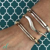 Stacked Bracelets by E.L. Drafts – Our Spring Open feature does the trick …