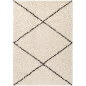 benuta Essentials Hochflor Shaggyteppich Ava Hellbraun 140×200 cm – Langflor Teppich für Wohnzimmerb