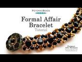 Formal Affair Bracelet – DIY Jewelry Making Tutorial by PotomacBeads – – …