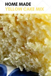 Home Made Yellow Cake Mix – food