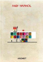 ARCHIST Gallery: Obras de arte reinventadas como arquitectura – 8   – ARQUITETURA