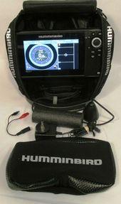 Ad Ebay Humminbird Ice Helix 7 Chirp Di Gps G2 Fishfinder Black Mint Humminbird Boat Battery Gps