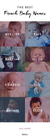 17 French Baby Names That Are Prime for an American Takeover – #17 #American #an… – Serafina Ángela