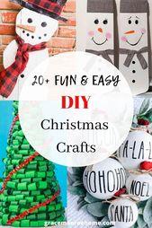 20+ Beste DIY Weihnachtshandwerk