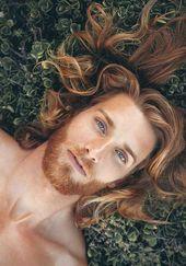 Must-See Bilder von Männern mit langen Frisuren | Männer Frisuren   – My idea