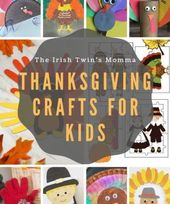 Thanksgiving-Basteln für Kinder – 13 meiner liebsten Bastelarbeiten am Erntedan … – Holiday ideas