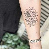 10 Beautiful Rose Tattoo Ideas for Women