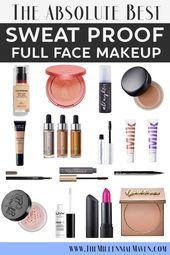* AKTUALISIERT 2019 * Die besten schweißresistenten Make-up-Produkte für eine lange …   – Make up Produkte