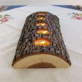 Kreative Weihnachtsdeko aus Holz basteln – 29 insp…