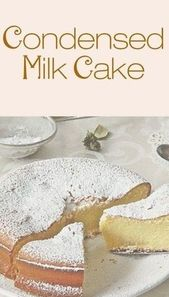 CONDENSED MILK CAKE – Top cooking