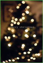 Wallpaper Iphone Tumblr – Bokah Christmas tree. – Background – #Background #Boka …  – Christmas