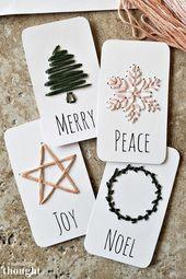 Über 40 kostenlose druckbare Weihnachtsgeschenkanhänger zum Verpacken von Geschenken   – Work ideas