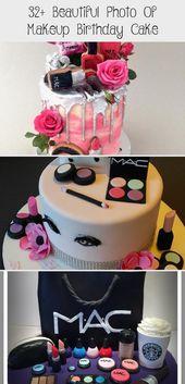 32+ Beautiful Photo Of Makeup Birthday Cake – Cake