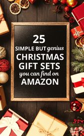 25 Simple But Genius Christmas Gift Sets You Can Find on Amazon