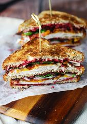 The Ultimate Leftover Turkey Club – Oh Sweet Basil