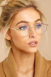 I See You Gold Blue Light Glasses