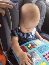 Ganzes Buch, Autismus, zappeliges sensorisches Spielzeug, Babymatte, Beschäftigte Spielzeugak…