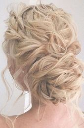 44 Messy updo hairstyles – The most romantic updo to get an elegant look – loose wedding hairstyles