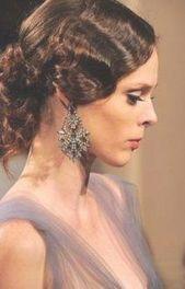 54 trendy vintage hairstyles for long hair wedding updo finger waves - #finger #hairstyles #trendy #vintage #waves