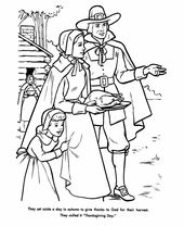 Free Printable Pilgrim Coloring Pages For Kids Best Coloring Pages For Kids Thanksgiving Coloring Pages Family Coloring Pages Thanksgiving Color