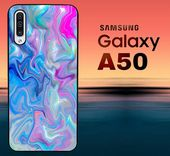 Hologram Holographic X8598 Samsung Galaxy A50 Case