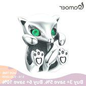Bamoer #baby #fox #animal #metal #charm #fit