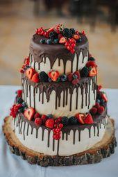 2020 Wedding Cake Trends: 25 Drip Wedding Cakes – Rezepte