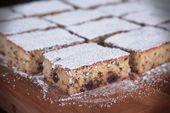 Stracciatella Kirschkuchen   – Blechkuchen