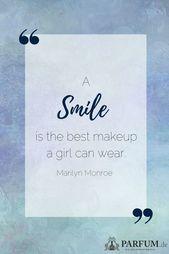 Ein Lächeln ist immer noch das beste Accessoire, das man tragen kann.  #Lächeln #Spruch #Zitat