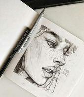 🙃 Schöne Bleistiftskizzen 😍 Wischen 👉 Welches ist das süßeste? 🤔 • Ein